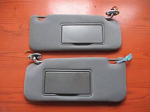 Козырек солнцезащитный (комплект) 96400CB000, 96401CB000 993867 Murano Z50 NISSAN