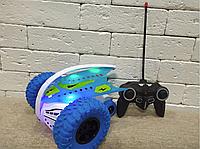 Машинка перевертыш Скоростная на Пульте Spin Car 360 со Световыми и Звуковыми эффектами, фото 1