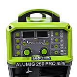 Magnitek AluMig-250 mini Duble-Pulse Synergic сварочный полуавтомат, фото 3