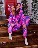 Кигуруми единорог для мальчиков и девочек, взрослых и детей пижама, пижамы кигуруми для девушек, парней