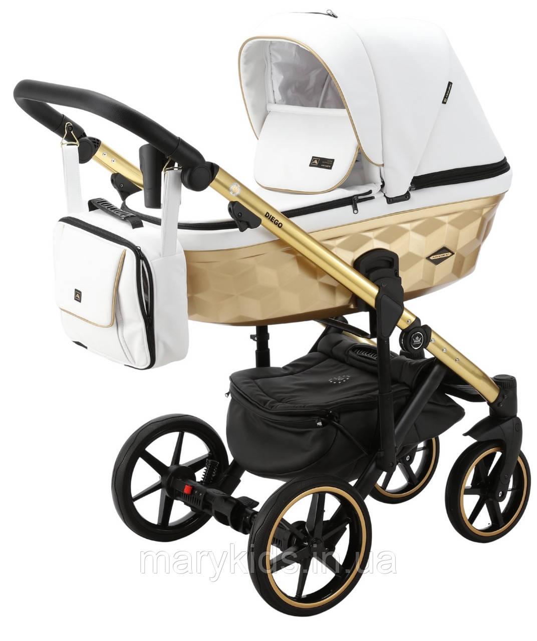 Детская универсальная коляска 2 в 1 Adamex Diego STAR-104
