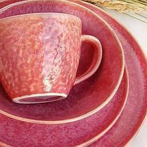 Керамічна рожева гуртка посуд модерн для кафе ресторанів і вдома 400 мл