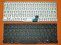 Клавиатура для Apple Macbook Pro A1502, US, (горизонтальный ENTER, черная, под подсветку)