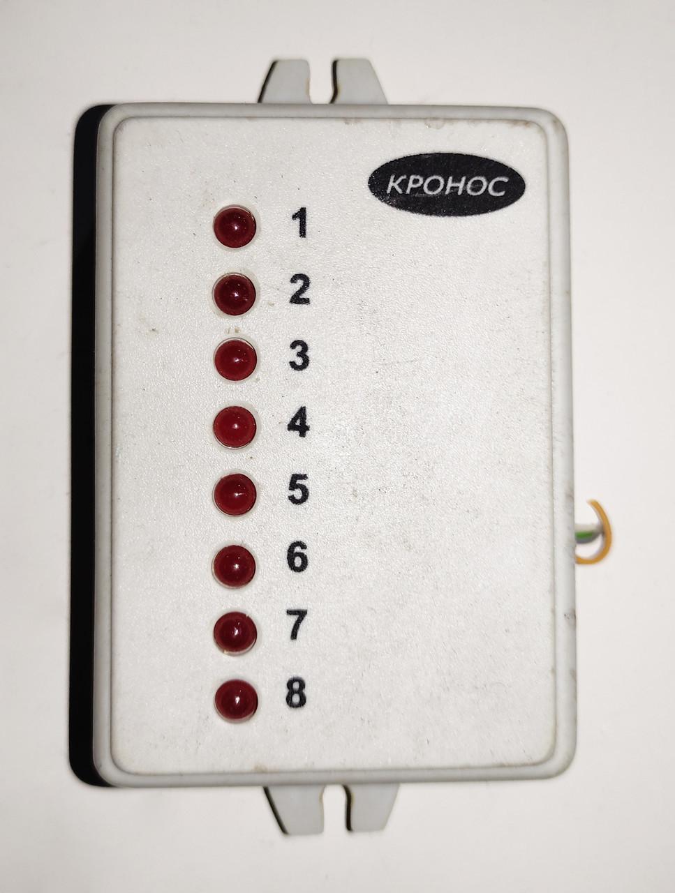 """Б/У Расширенная панель контроля РПК8. Панель контроля для работы с ППКОП """"Кронос-ОП8"""""""