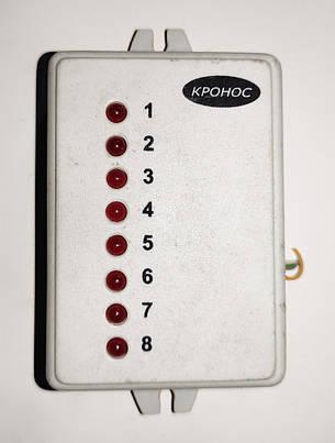 """Б/У Расширенная панель контроля РПК8. Панель контроля для работы с ППКОП """"Кронос-ОП8"""", фото 2"""
