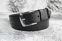 Ремень мужской Armani кожаный под джинсы 45мм