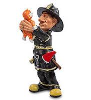"""Оригинальная статуэтка """"Пожарный"""" (W.Stratford) RV-532"""