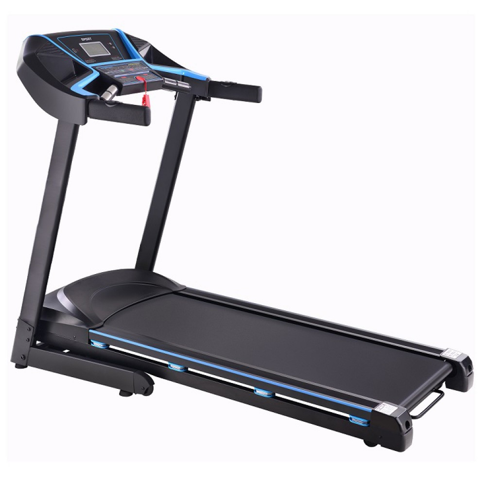 Бігова доріжка Atleto A12 електрична до 120 кг для дому (бігова доріжка спортивна з кутом нахилу USB)
