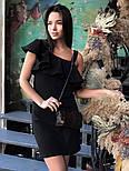 Платье женское красивое с открытым плечом, фото 2