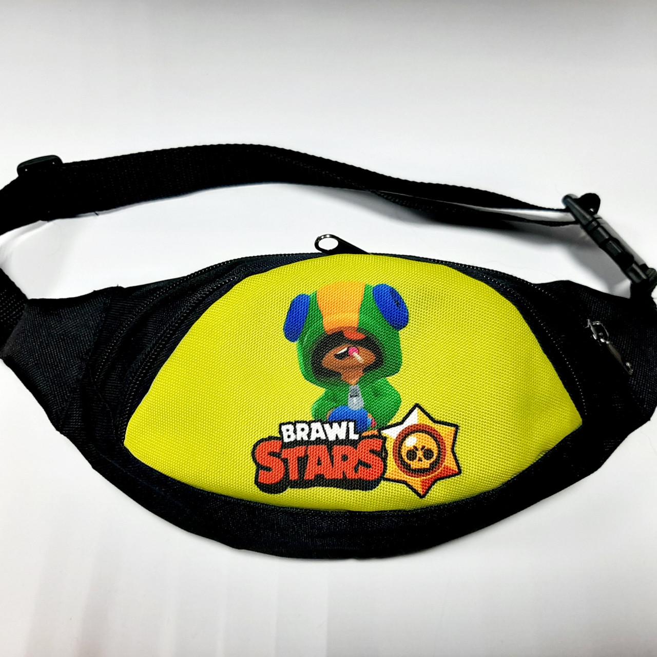 Поясная детская сумка бананка Brawl Stars