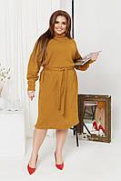 Женское ангоровое платье большого размера.Размеры:48/50,52/54,56/58+Цвета, фото 1