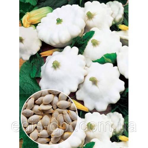 Патиссон белый Диск, семена весовые Яскрава 1 кг