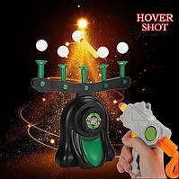 Воздушный Тир Hover Shot Детская Игра стрельба по шарикам ZF, фото 1