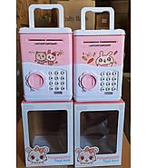 Сейф-копилка с музыкой и отпечатком цвет розовый PA9-1_pink, фото 7