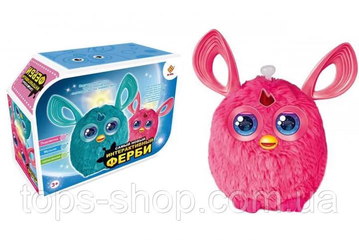 Интерактивная музыкальная игрушка Ферби Furby  для девочки, розовый цвет новая версия, в подарочной упаковке