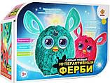 Интерактивная музыкальная игрушка Ферби Furby  для девочки, розовый цвет новая версия, в подарочной упаковке, фото 4