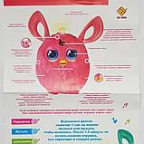 Интерактивная музыкальная игрушка Ферби Furby  для девочки, розовый цвет новая версия, в подарочной упаковке, фото 5