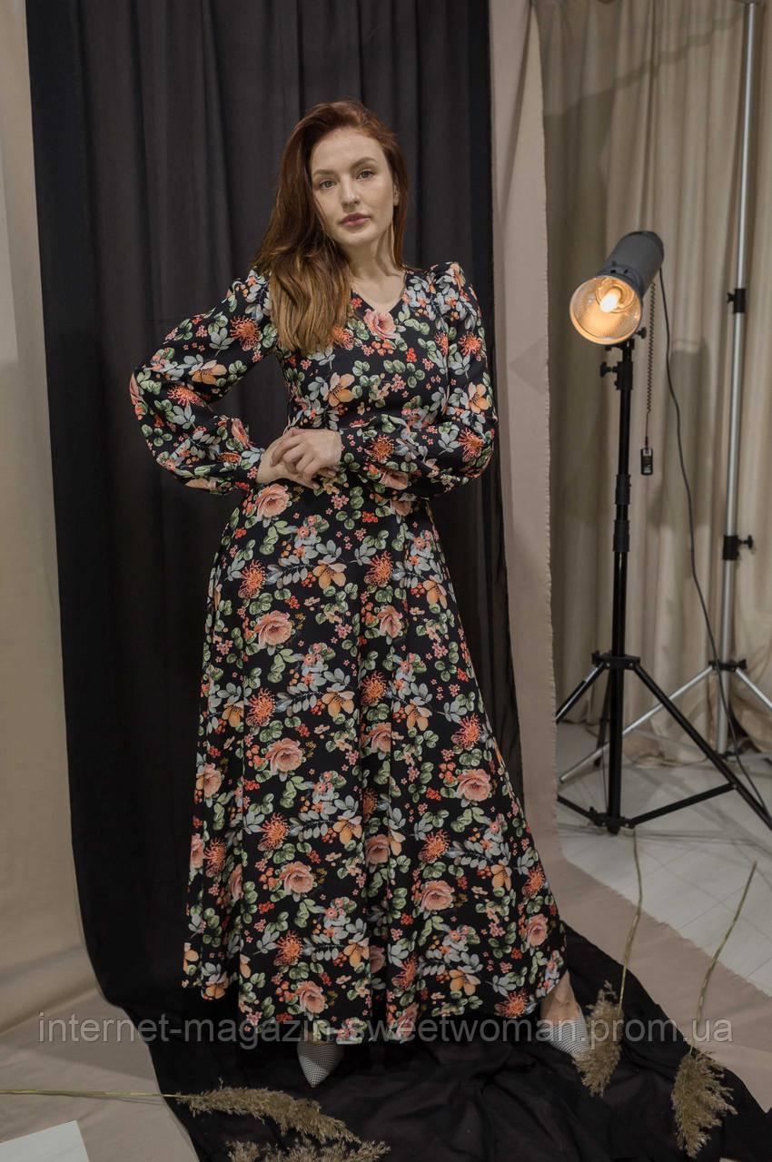 Неймовірно красива сукня в квіти Verezhik House