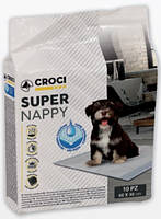 Пеленки для собак Croci Super Nappy 50шт (60 x 40см)
