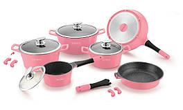 Набор посуды Royalty Line RL-ES1014M Pink