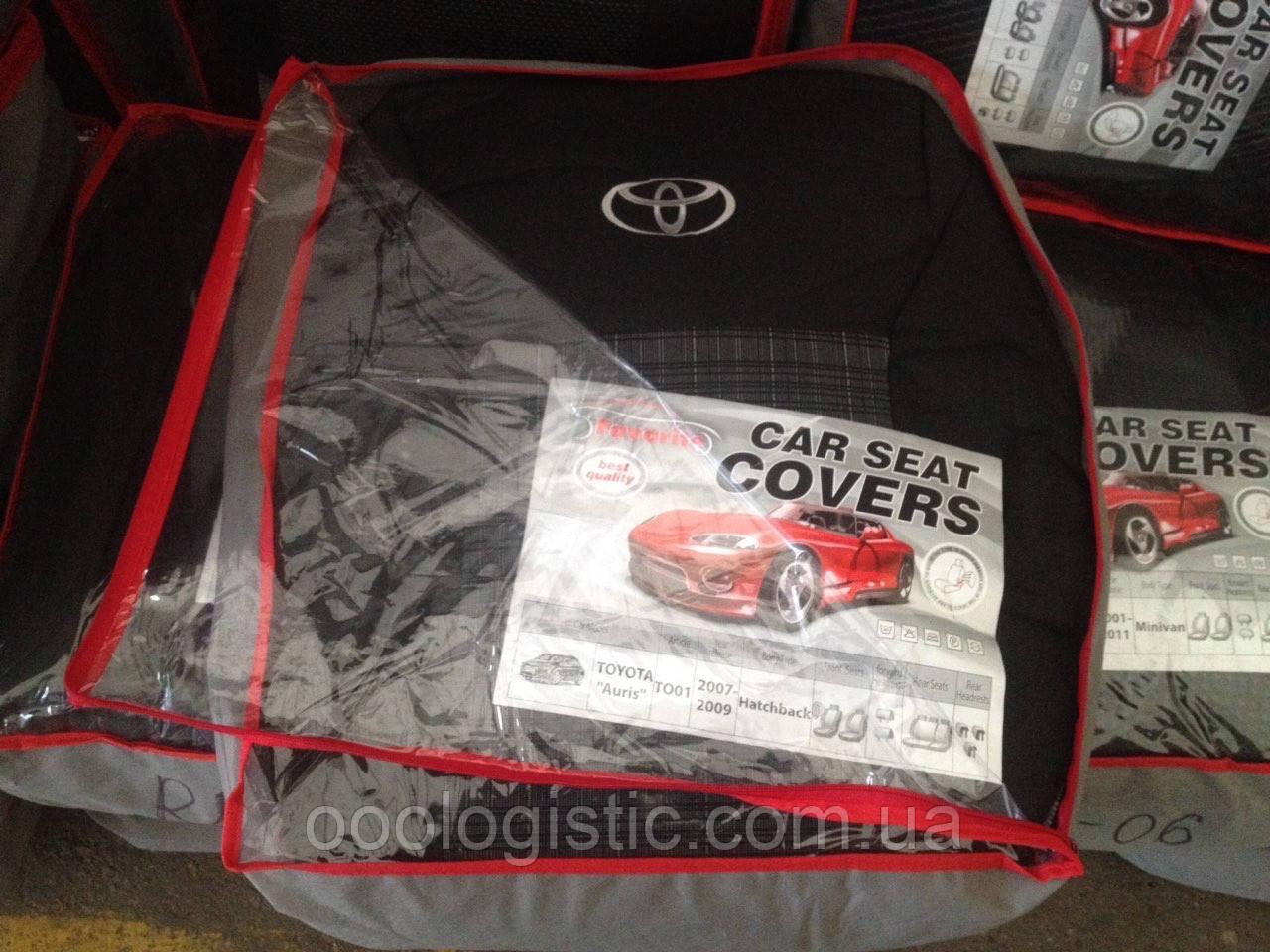 Авточохли на Toyota Auris 2007-2009 hatchback