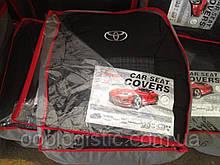Авточехлы  на Toyota Auris 2007-2009 hatchback