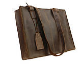 ЖІНОЧА СУМКА ШКІРЯНА ВЕЛИКА ШОПЕР сумка жіноча ОЛИВКОВА, фото 3