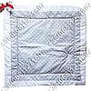 Зимний конверт на выписку Горошек серый, фото 2