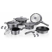 Набор посуды Royalty Line RL-ES1014m Silver