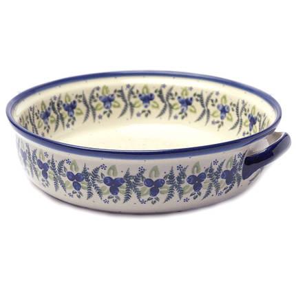 Большая круглая форма с ручками 28 для выпечки Blueberry crown, фото 2