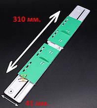 Летковий загороджувач пластиковий нижній 310мм