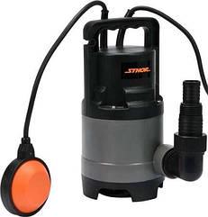 Насос для брудної води мережевий, 400Вт, 8000 л / год, макс. висота - 12,5 м STHOR 79781
