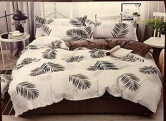 """Комплект постельного белья Бязь Gold """"Перо"""" двухспальный 180*220 см"""