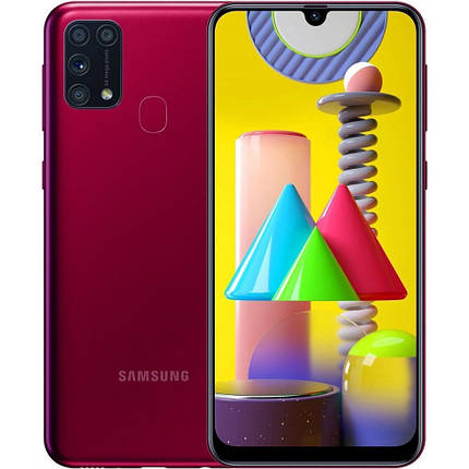 Смартфон Samsung Galaxy M31 6/128GB Red (SM-M315FZRU), фото 2