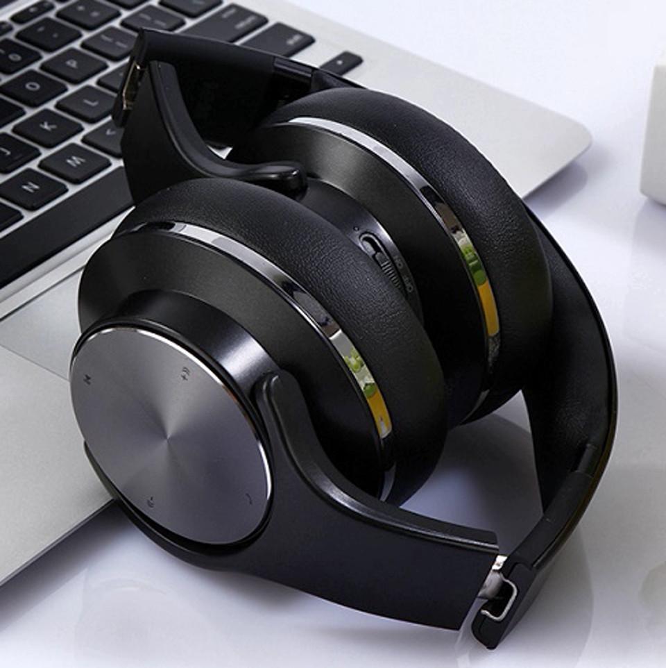 Беспроводные складные Bluetooth наушники с микрофоном SODO MH5 Original Блютуз