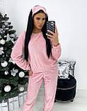 Комплект домашний женский мягкий белый, розовый, серый, графит 42-44,46-48, фото 5