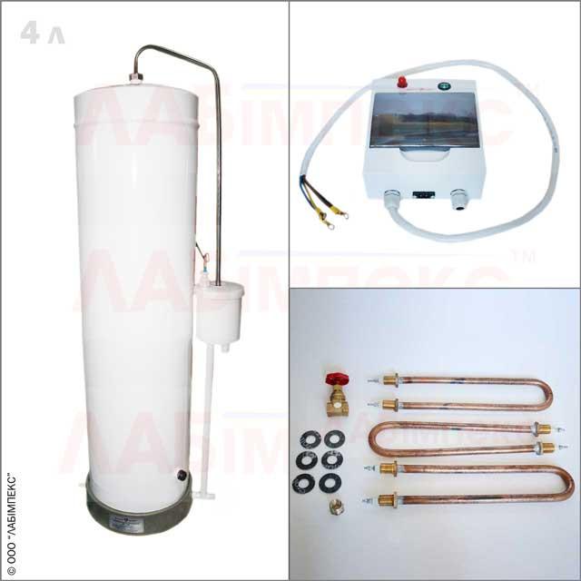 Дистиллятор электрический лабораторный ДЭ-4М, Украина