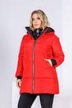 Модна жіноча зимова куртка,розмір:44-46,48-50,52-54,56-58., фото 5