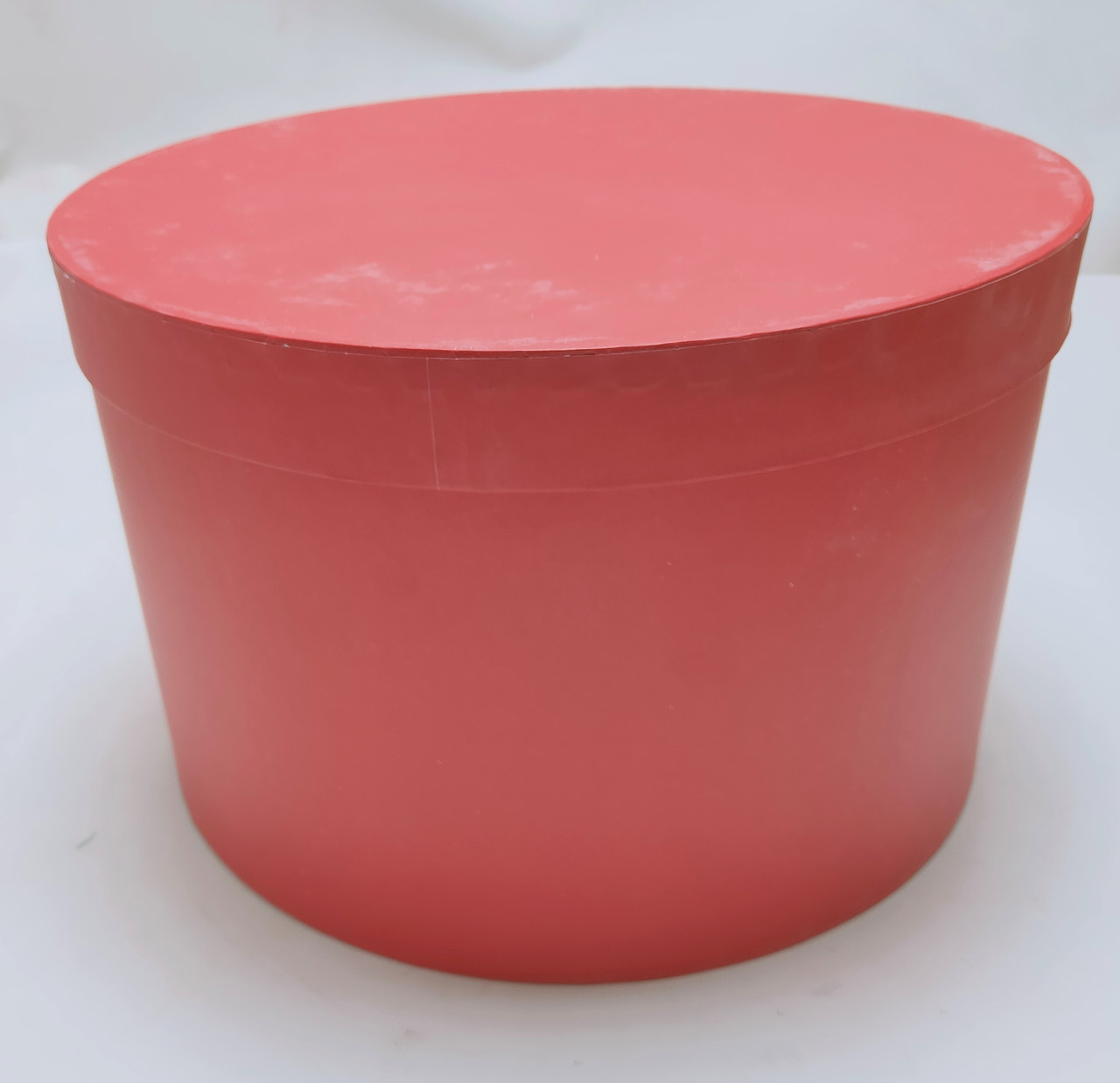 Коробка круглая  d32см*h20см красная