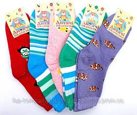 Носки детские ТОП-ТАП плюшевые для девочек 20-22р комплект 12 пар (Д-101)