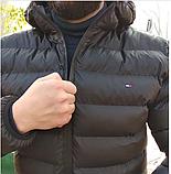 Куртка мужская Tommy Hilfiger. Теплая стильная куртка-бомбер. Турция., фото 8