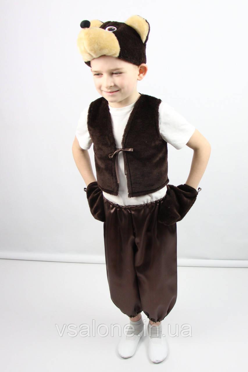 Детский карнавальный костюм для мальчика Мишка №2