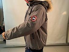 Canada goose chilliwack bomber Канада Гус зимний короткий пуховик темно серый, фото 2