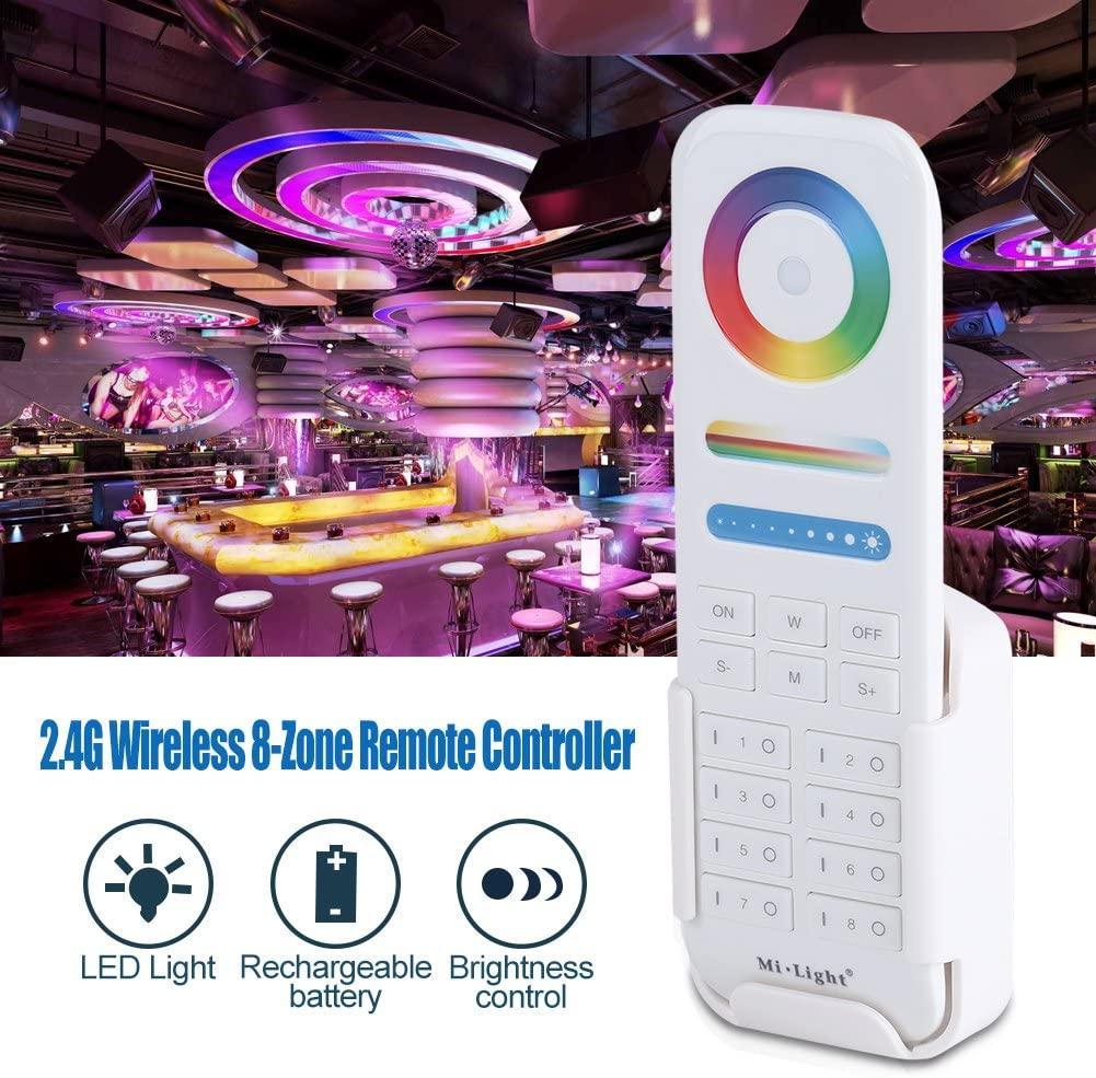 2.4G пульт д/у Mi-light FUT089 для контроллеров RGB+CCT Miboxer Mi-light . 8-ми зонный