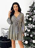 Платье женское новогоднее блестящее 42-44,46-48, фото 4