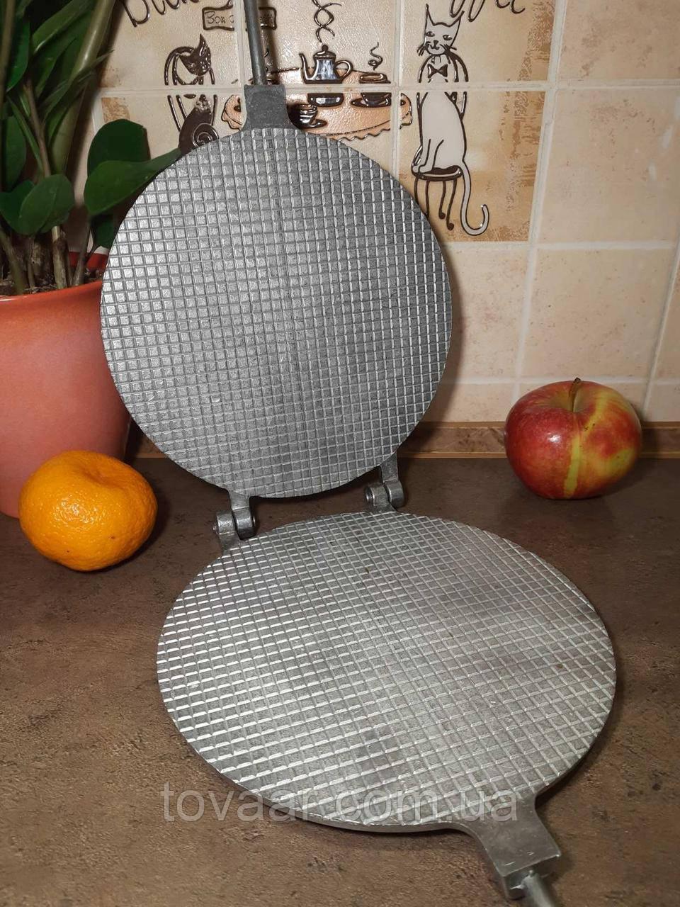 Форма для выпечки вафель, Вафельница (круглая, 22 см.), форма для приготовления вафель