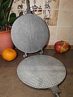 Форма для выпечки вафель, Вафельница (круглая, 22 см.), форма для приготовления вафель, фото 1