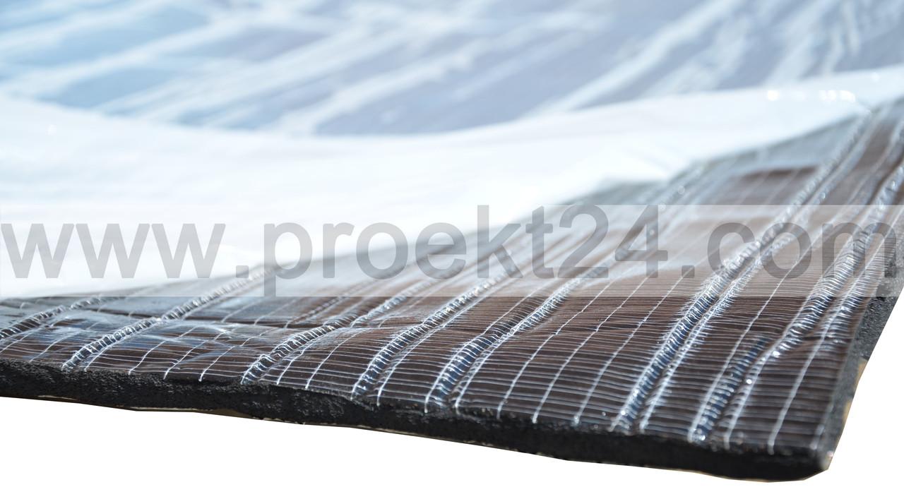 Шумка для авто 9мм, вспененный каучук, СПЛЕН (сплэн), 750*500мм - Глобальные энергосберегающие технологии  в Днепре