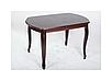 Стол обеденный Турин (орех темный 120-160 см), фото 2