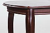 Стол обеденный Турин (орех темный 120-160 см), фото 4